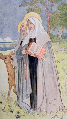 St Bridget and St Catherine of Sweden