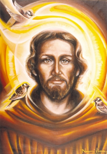 St Francis of Assisi Biography Saint Francis Prayer Church Quotes