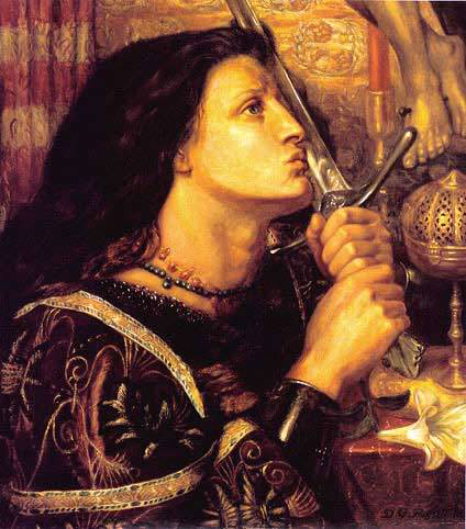 a biography of saint joan of arc a military commander How did joan of arc become a saint wa burned on a stake how did joan of arc become famous answer: as a visionary military commander at the siege of orleans.